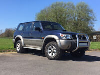 Nissan Patrol, 3 litre GR DI SE+, Leather, Air Con, Long MOT, Clean and Tidy, Auto, New Tyres