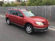 2004 MITSUBISHI OUTLANDER AWD (FOUR CYLINDER AUTO) North Hobart Hobart City Preview