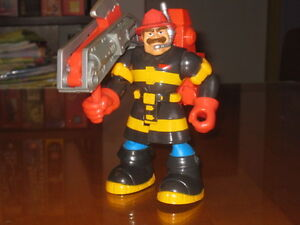 Fisher Price #77081 Billy Blazes Firefighter  Rescue Heroes 1998