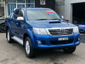 2012 Toyota Hilux KUN26R MY12 SR5 (4x4) 4 Speed Automatic Dual Cab Pick-up