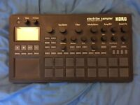 Korg Electribe Sampler. Hardware sampler, sequencer and synthesizer. Near mint condition.
