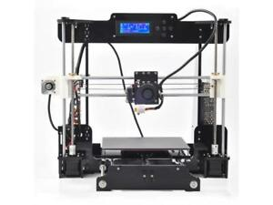 Prusa-i3 3D Printer220x220x210mm used works great