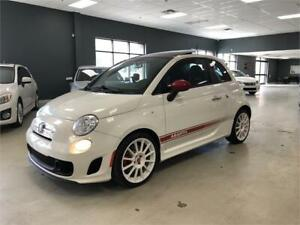 2012 FIAT 500 Abarth*MANUAL*RARE WHITE ON RED*NO ACCIDENTS*