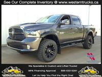 2015 Ram 1500 SPORT, LIFTED~Every Option, Only $360 B/W
