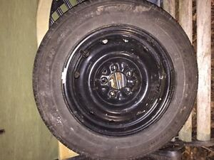 1 225 60r16 Tire with Rim