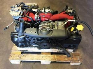 JDM EJ207 2004-2005 SUBARU IMPREZA STI MOTOR 2.0L TURBO VF37 VERSION 8 AVCS ENGINE ONLY FOR SALE