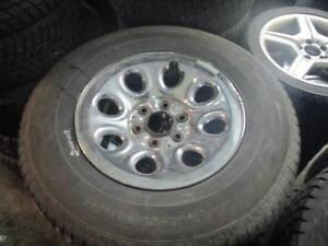 265/70 R17 POWER TRAC WINTER TIRES ON CHEVY PICK-UP TRUCK RIMS USED SNOW TIRES (SET OF 4 - $750.00) - APPROX. 80% TREAD