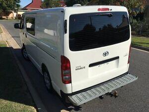 2012 Toyota Hiace KDH201R MY11 LWB White 4 Speed Automatic Van West Hindmarsh Charles Sturt Area Preview