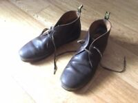 b25341cd4eed Used Dr. Martens Cabrillo Crazy Horse boots in brown UK size 12