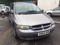 Chrysler Grand Voyager 7 seater automatic, starts and drives well, no MOT, car located in Gravesend