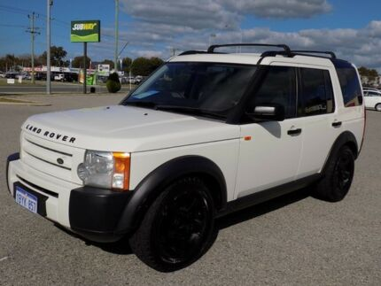 2005 Land Rover Discovery 3 S White 6 Speed Sports Automatic Wagon Maddington Gosnells Area Preview