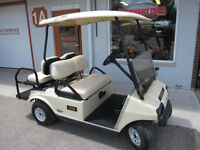 2006Club Car DS Electric Golf Cart with Rear Seat & Lights