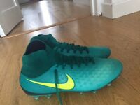 Football Sock Boots Nike Magista (size 8.5)