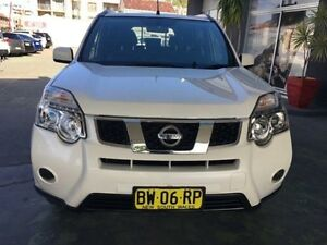 2013 Nissan X-Trail T31 Series V ST White Constant Variable Wagon Hamilton Newcastle Area Preview