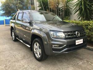 2017 Volkswagen Amarok 2H MY18 V6 TDI 550 Highline Grey 8 Speed Automatic Dual Cab Utility