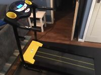 Fit4Home JK1603 folding treadmill 8 months old