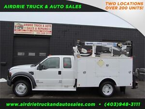 2008 FORD F-550 XL SERVICE BODY