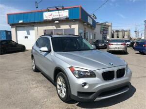 2013 BMW X1 28i XDRIVE AWD/ TOIT PANORAMIQUE/ CUIR/ MAGS/ FULL !