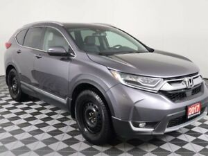 2017 Honda CR-V TOURING w/PANORAMIC ROOF, HEATED LEATHER, NAVIGA