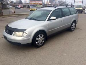 2000 VW PASSAT WAGON WITH LEATHER & ROOF