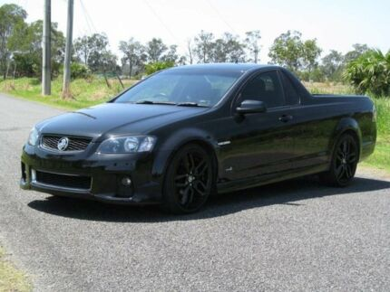 2012 Holden Ute VE II MY12 SV6 Black 6 Speed Sports Automatic Utility Stapylton Gold Coast North Preview