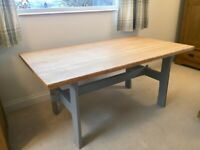 Upcycled Wooden Dining Table