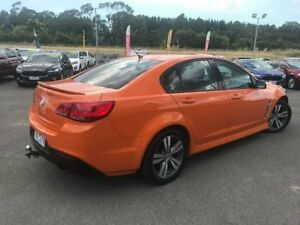 2013 Holden Commodore Orange Sports Automatic Sedan