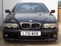 2001 51 BMW 5 SERIES 3.0 530I SPORT 4D AUTO 228 BHP