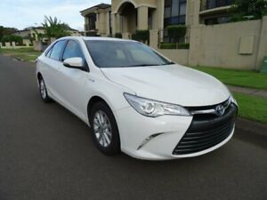 2017 Toyota Camry AVV50R MY16 Altise Hybrid Diamond White Continuous Variable Sedan Sunnybank Hills Brisbane South West Preview