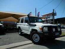 2011 Toyota Landcruiser VDJ76R Workmate White 5 Speed Manual Wagon Southport Gold Coast City Preview