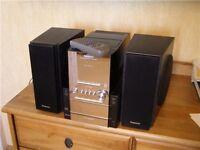 Panasonic SA PM27 CD Stereo system