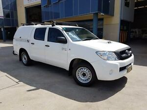 2009 Toyota Hilux KUN16R 09 Upgrade SR 5 Speed Manual Dual Cab Pick-up Moorebank Liverpool Area Preview