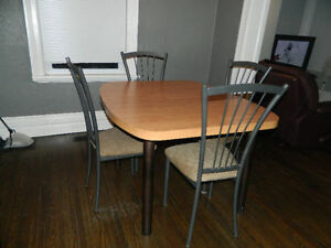 Table + 4 Chairs-Good condition