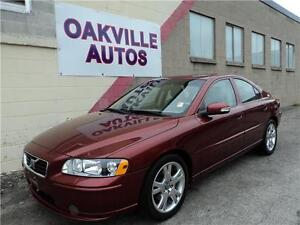 2007 Volvo S60 SE-LEATHER-SUNROOF-145KM- Certified & E-tested