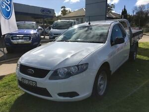 2008 Ford Falcon FG (LPG) White 4 Speed Auto Seq Sportshift Cab Chassis Young Young Area Preview