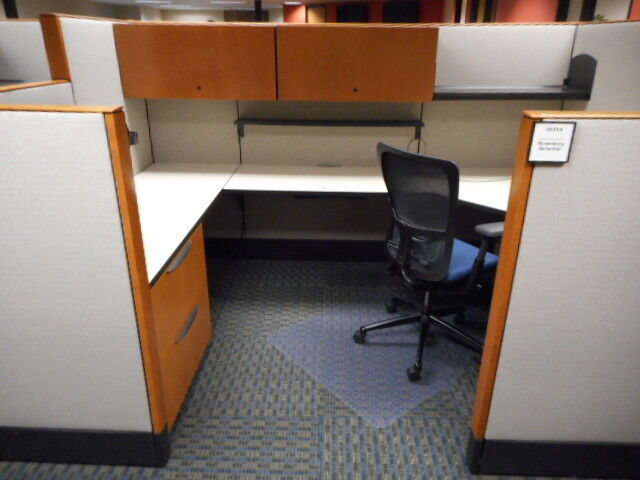 Used Office Cubicles, Haworth Premise Cubicles 8x6
