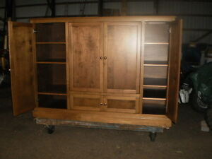 """ BIRCH ""  ENTERTAINMENT UNIT/ WALL CABINET Windsor Region Ontario image 2"