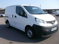 Nissan Nv200 1.5 DCI 89 BHP SE VAN DIESEL MANUAL WHITE (2013)