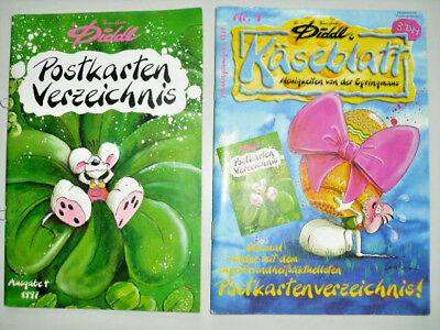 Diddl Käseblatt Nr. 9 1997 Frühlingsausgabe m. Postkartenverzeichnis rar selten