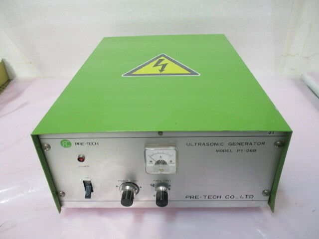Pre-Tech Co., PT-06B, Ultrasonic Generator, 200V. 423003