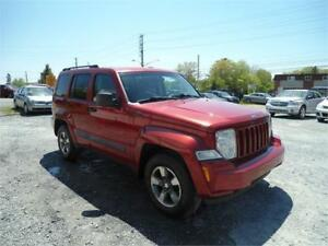 GREAT DEAL! 2008 JEEP LIBERTY 4X4 !!, NEW BRAKES ! NEW MVI !!!!