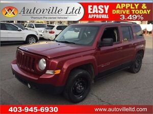 2013 Jeep Patriot Sport, AWD EVERYONE APPROVED