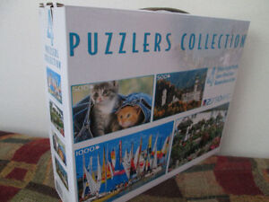 *Brand New* 4-in-1 Puzzlers Collection