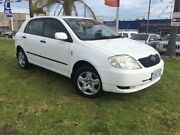 2003 Toyota Corolla ZZE122R Ascent White 4 Speed Automatic Hatchback Wangara Wanneroo Area Preview