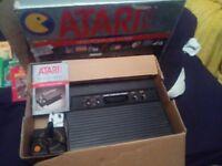 atari boxed with games
