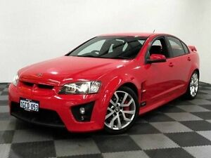 2008 Holden Special Vehicles Clubsport E Series MY09 R8 Red 6 Speed Manual Sedan Edgewater Joondalup Area Preview