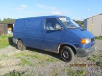 VW T4 with new MOT