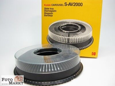 2 St. Kodak Carousel Rundmagazin (2x80) für Ektapro 2030 2050 .. alle Modelle