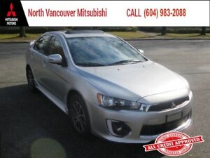 2017 Mitsubishi Lancer SE LTD *SUNROOF *ALLOY *HEATED FR SEATS