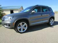 2013 VW Tiguan 2.0T 4Motion R-LINE **LEATHER-NAV-SUNROOF**